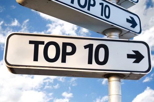 Populaire zomervakantie top 10